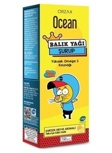 Orzax Orzax Ocean Balık Yağı Şurubu Karışık Meyve Aromalı 150Ml   Kral Şakir Vitamin Ve Mineral İÇeren Gıda Takviyesi Renksiz